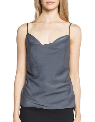 Bardot Drape Cut-Out Back Top-GREY-Small 89208377_GREY_Small