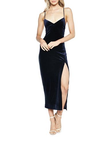 Bardot Raven Bodycon Dress-BLUE-Large