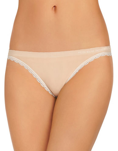 Heidi By Heidi Klum Seamless Thong-BEIGE-Medium