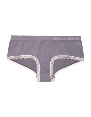 Heidi By Heidi Klum Seamless Bikini Briefs-PURPLE-X-Large