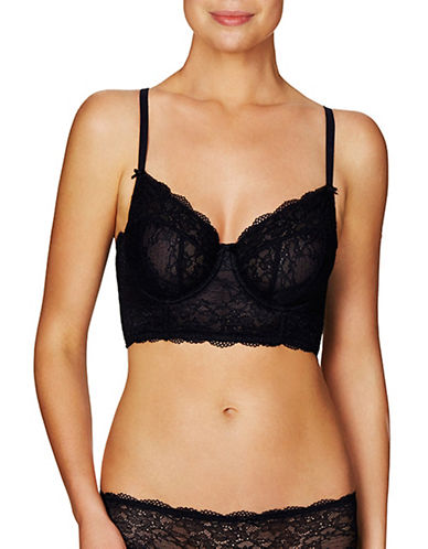 Evollove Day Blush Longline Bra-BLACK-32F