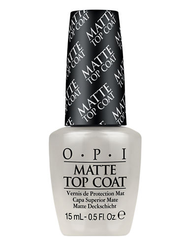 Opi MANICURE AIDS Matte Top Coat-NO COLOUR-One Size
