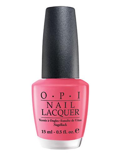 Opi CLASSICS Strawberry Margarita Nail Lacquer-STRAWBERRY MARGARITA-15 ml