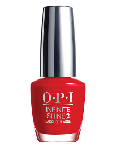 Opi INFINITE SHINE Unequivocally Crimson Nail Lacquer-UNEQUIVOCALLY CRIMSON-15 ml