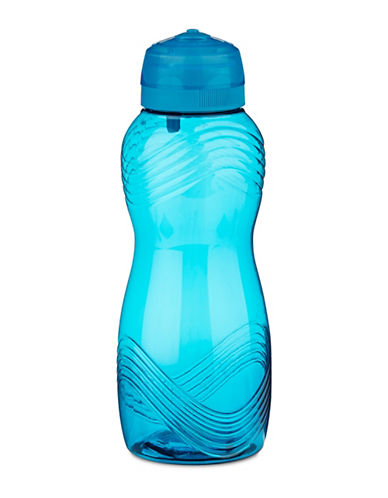 Klipit To Go Twist and Sip Water Bottle-BLUE-One Size