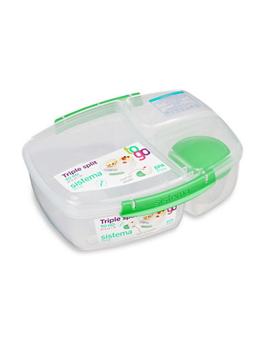 Klipit To Go Split Lunch Container-ASSORTED-One Size