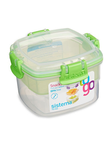 Klipit To Go Snack Container-CLEAR-One Size