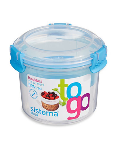 Klipit To Go Breakfast Container-CLEAR-One Size