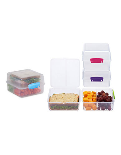 Klipit Lunch Cube to-Go Container-ASSORTED-One Size