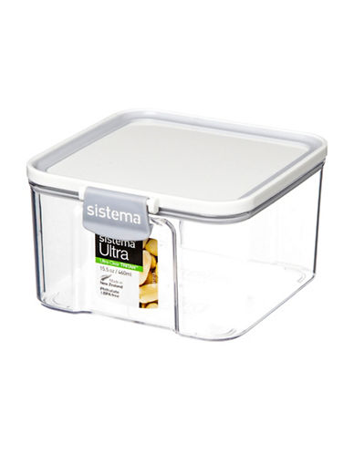 Sistema 460ml Tritan Ultra Square Canister-CLEAR-500 ml