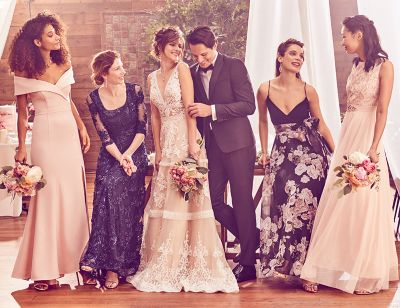 Celebrate Love With Dresses For Bridesmaids, The Mother Of The Bride,  Guests And More