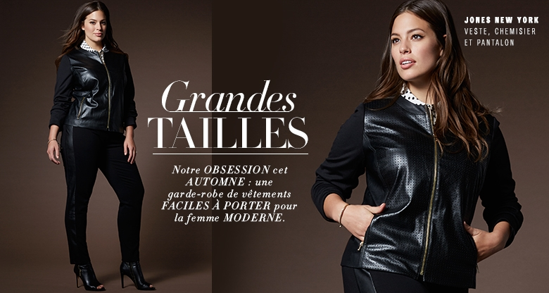 Plus Size - For Fall we're obessed with a wardrobe of wearable pieces that work for the modern woman