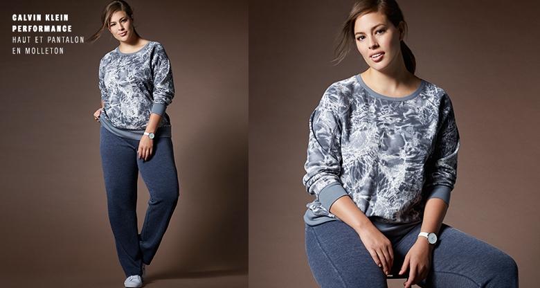 Dex - Animal Print Shirt And Black Legging