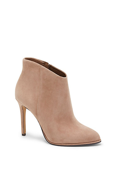 VINCE CAMUTO LORENZA- ALMOND TOE HIGH HEEL BOOTIE
