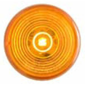 CML56AL: Marker/Clearance Light; 2″ Round Recess Grommet Mount; 1 LED Yellow; P2 Rated image