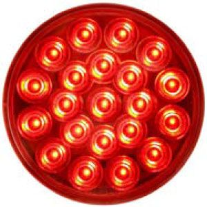 STT55RL: Stop, Turn, Tail Light; 4″ Round Sealed; 21 Diode; Red LED image