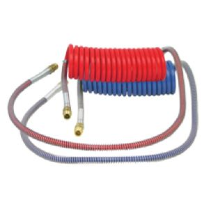 AC15S48: Air Brake Coil – 15′ with 48″ Lead, Red & Blue Set image