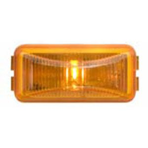 CML90AL: Marker/Clearance Light; Mini Thinline; Bracket Mount; 1 LED Yellow; P2 Rated image