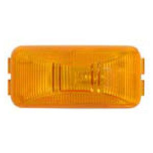 CML91A: Marker/Clearance Light; Mini Thinline; Bracket Mount; Yellow; PC Rated image