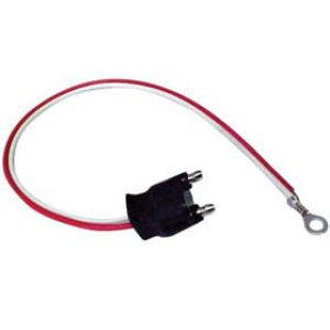 PT452: Pigtail, 2-Wire Straight 10″, For Back-Up and Utility Lights image