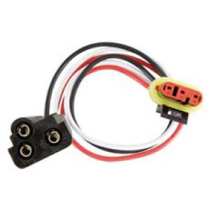 PT45W: Pigtail, 3-Wire Weathertight Plug With Female PL-3, For Stop/Turn/Tail, Parking/Turn and Warning Lights image