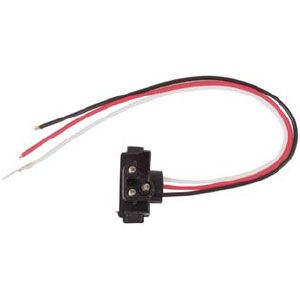 PT47: Pigtail, 3-Wire Right-Angl 10″e, For Stop/Turn/Tail, Parking/Turn and Warning Lights image