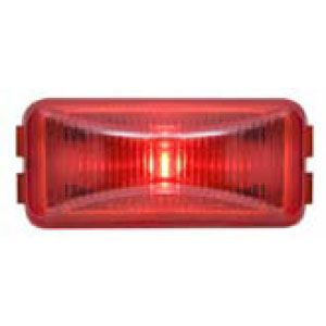 CML90RL: Marker/Clearance Light; Mini Thinline; Bracket Mount; 1 LED Red; P2 Rated image