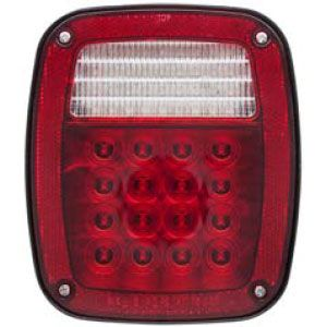 Stt60rl Stop Turn Tail Light Universal Mount