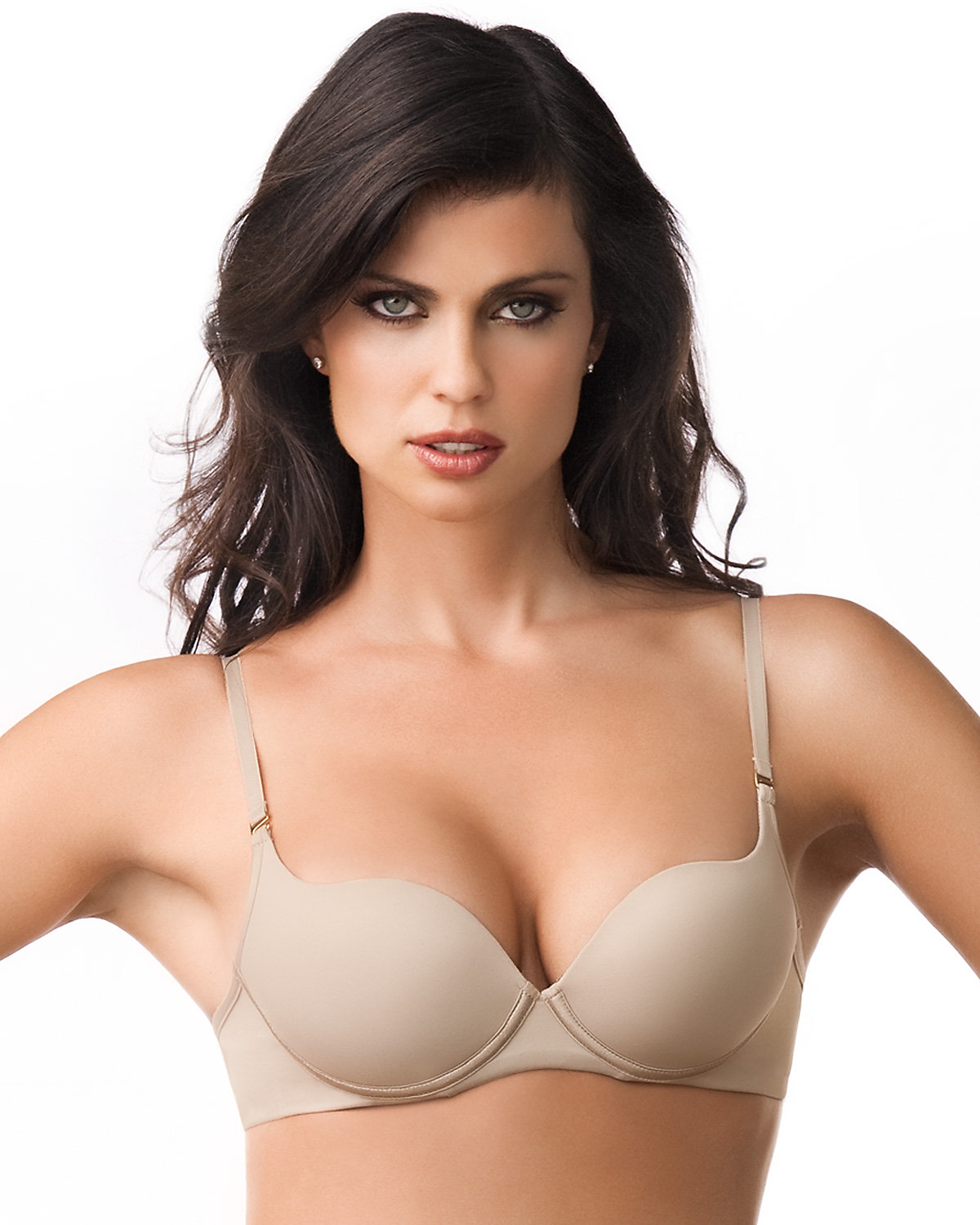 Image of Amazing Push Up Bra with Demi Cups