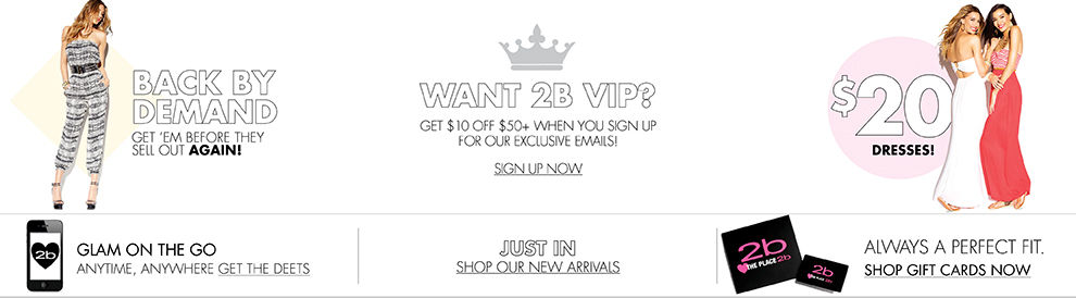 Shop 2bstores.com NOW!