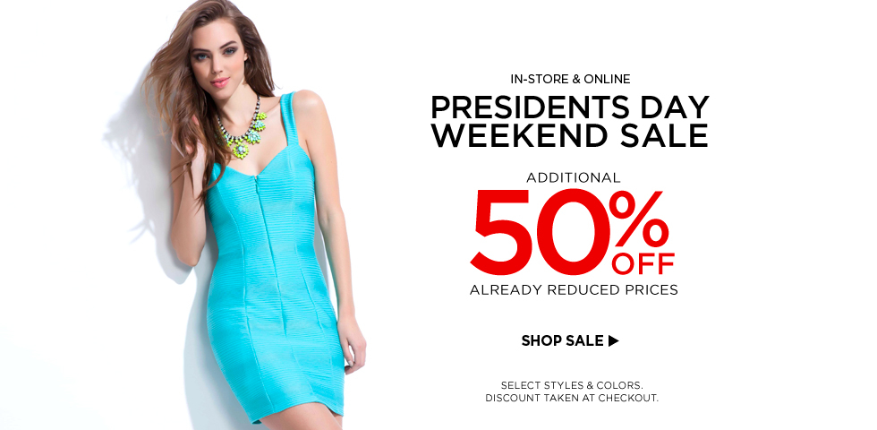 Save 50% OFF Selected Styles + Free Shipping On Order Over 150$ at Bebe.com.