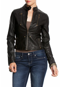2b Seamed Exposed Zip Jacket