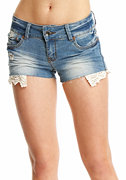 2b Lace Pocket Short