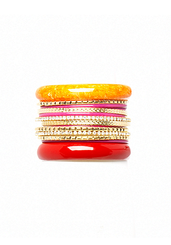 2b South Beach Bangle Set