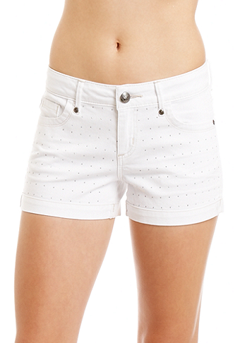 2b Studded Denim Short
