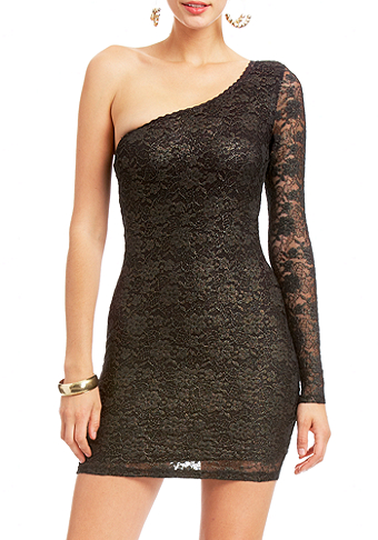 2b Susan Foil Lace Dress