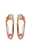 2b Kourtney Studded Toe Flat