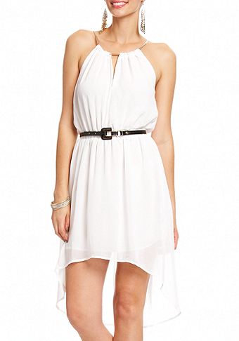 Stephanie Chain High Low Dress at 2b