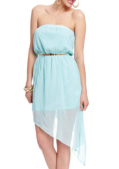 2b Annabelle Asymmetrical High Low Dress