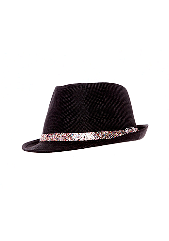 2b Fedora with Glitter Band