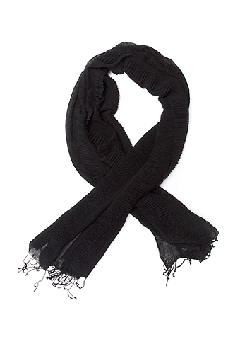 2b Accordion Pleated Scarf