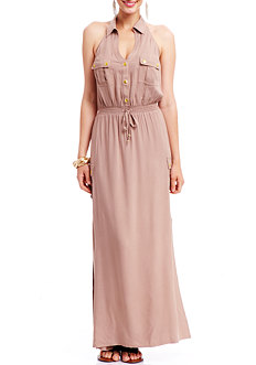 2b Hailey Halter Maxi Dress