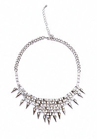Spike Statement Necklace at 2b