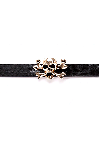 2b Big Skull stretch Belt