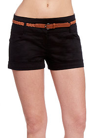 2b Kerri Belted Cotton Short