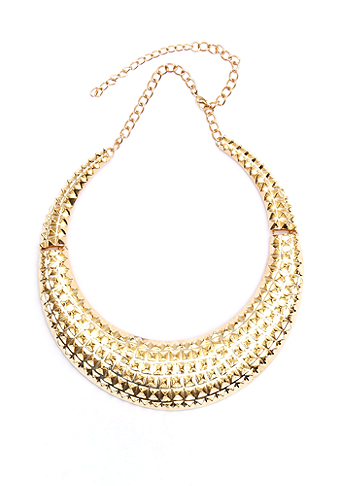 Spiked Collar Necklace at 2b