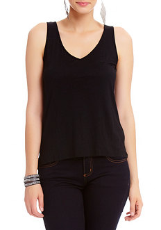 2b Carly Twist Macrame Back Top