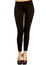 2b Large Zip Ponte Legging