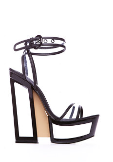 2b Like Magic Cut-out Lucite Sandal