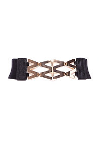 2b Metal Lattice Waist Belt